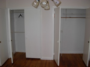 Closets Before